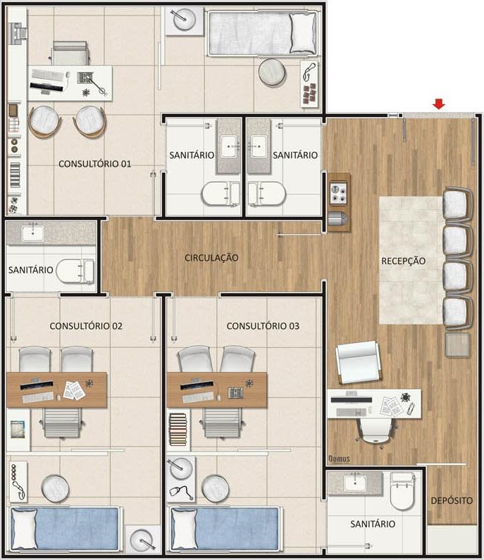 planta_70 m_3 suites-min